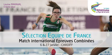 1ère sélection Internationale pour Louise Maraval (ES 85)